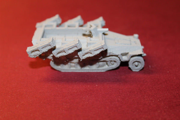 1/87TH SCALE  3D PRINTED WW II GERMAN HALFTRACK SDKFZ 251D1 STUKA-ZU-FUSS