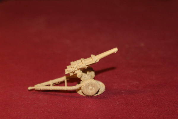 1-72ND SCALE 3D PRINTED IRAQ WAR BRITISH M119 HOWITZER FIRING POSITION