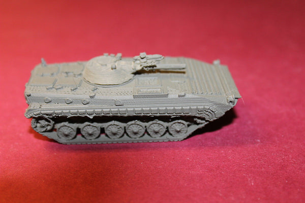 1/87TH SCALE  3D PRINTED POST WAR II SOVIET BMP1 WITH SACLOS GUIDED 9M113 KONKURS