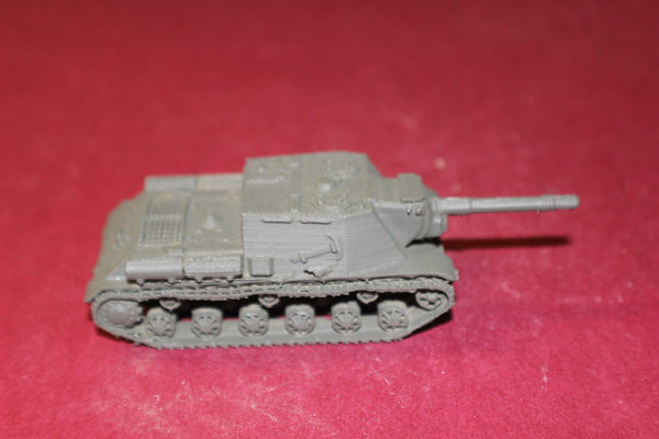 WW II RUSSIAN SU 152 SELF-PROPELLED GUN