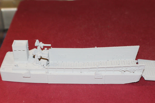 1/72ND SCALE  3D PRINTED WW II U S NAVY LCM UNMANNED