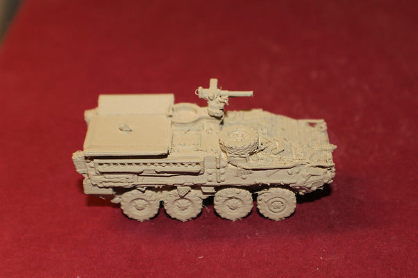 1-87 SCALE 3D PRINTED AFGANISTAN WAR U S ARMY STRYKER IFV WITH MORTAR