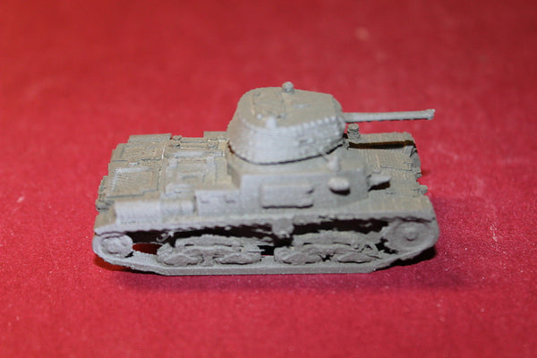 1/72ND SCALE  3D PRINTED WW II ITALIAN ARMY CARRO ARMATO M1542 TANK
