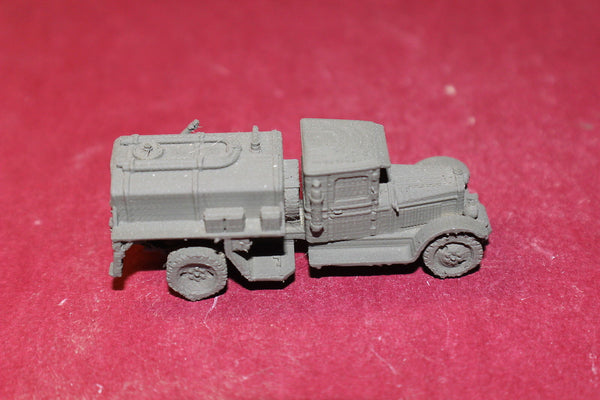 1/72ND SCALE  3D PRINTED WW II RUSSIAN ZIS 5 BZ TANKER TRUCK