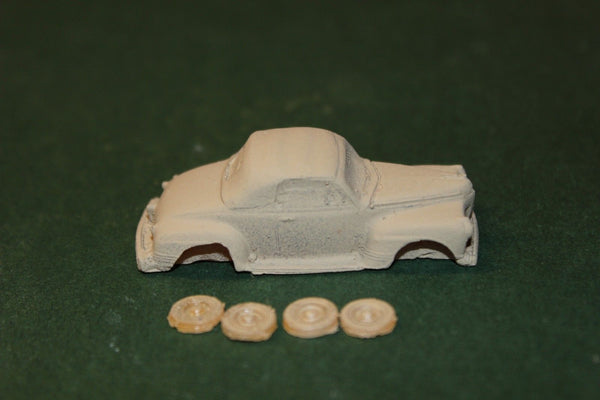 HO SCALE 1941 PLYMOUTH CONVERTIBLE RESIN KIT