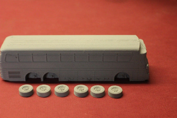 N SCALE 3D PRINTED 1972 EAGLE 05 TRAILWAYS BUS
