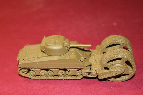 WW II U S ARMY M 4 SHERMAN AUNT JEMIMA MINE ROLLER KIT