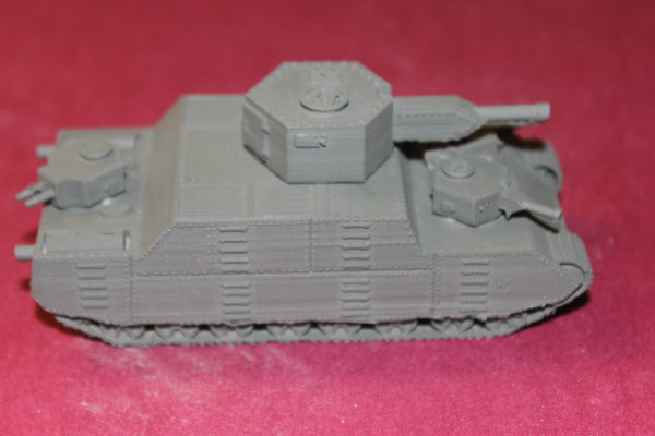 1/72ND SCALE 3D PRINTED WW II JAPANESE O-1 SUPER HEAVY TANK