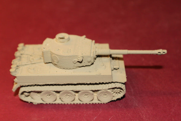 WW II GERMAN TIGER 1 H1 TANK AFRIKA KORPS OPEN HATCH