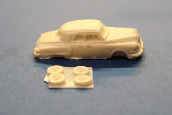 HO SCALE 1948 STUDEBAKER SEDAN RESIN KIT