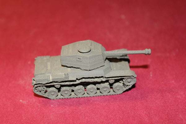 1/72ND SCALE  3D PRINTED WW II JAPANESE CHI-NU TYPE 3 MEDIUM TANK