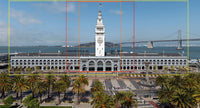 1/160TH  N SCALE BUILDING FACADE  3D PRINTED KIT SAN FRANCISCO FERRY BUILDING