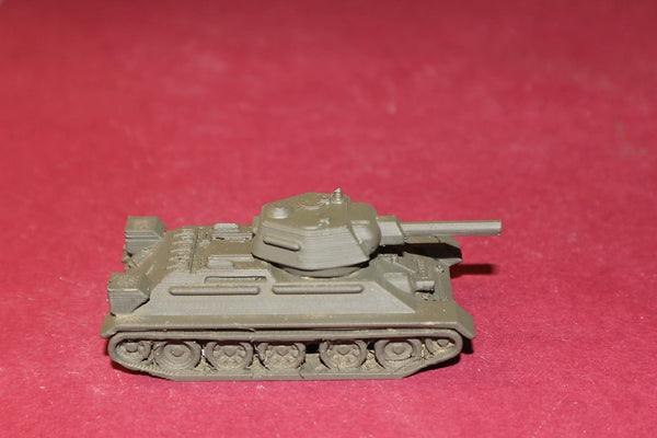 1/87TH SCALE  3D PRINTED WW II RUSSIAN T34-76-1943 MEDIUM TANK