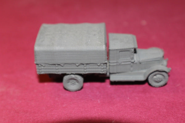 1/72ND SCALE  3D PRINTED WW II RUSSIAN ZIS 5 EARLY CLOSED