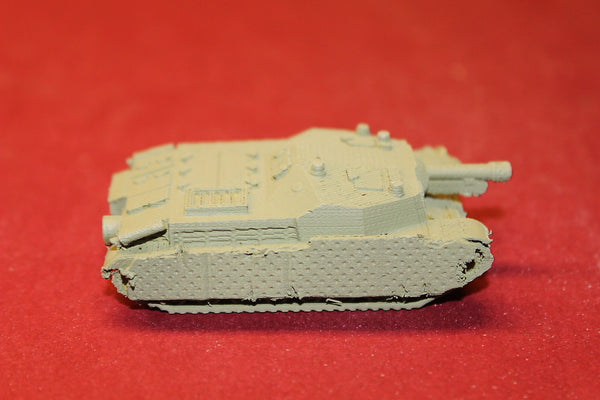 1/87TH SCALE  3D PRINTED WW II HUNGARIAN 4043M ZRÍNYI II WSKIRTS 40M 105 MM L20
