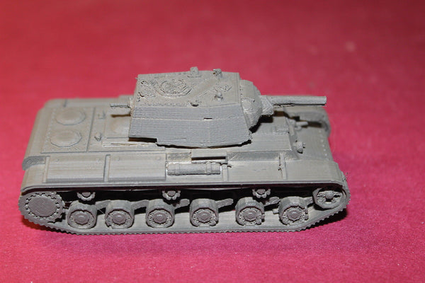 WW II RUSSIAN JV-1 HEAVY TANK 1940 TYPE 2