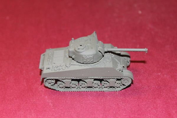 1/87TH SCALE  3D PRINTED WW II U S ARMY M4A3 WITH PHYSOPS LOUDSPEAKER