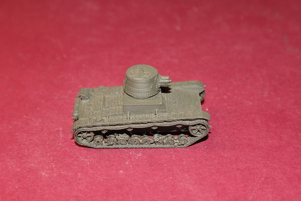 WW II POLISH VICKERS MKE TYPE A LIGHT TANK