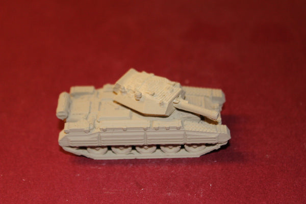 1/72ND SCALE  3D PRINTED WW II BRITISH CRUSADER MK III TANK