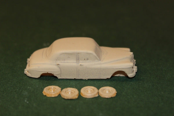 HO SCALE 1949 PLYMOUTH DELUXE RESIN KIT