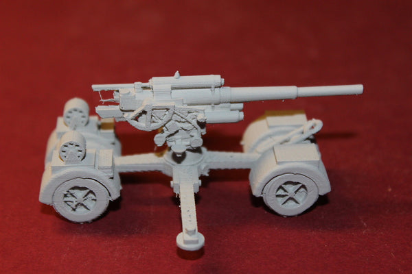1/87TH SCALE  3D PRINTED WW II GERMAN 8.8 CM FLAK 18363741 ANTI-AIRCRAFT-TANK