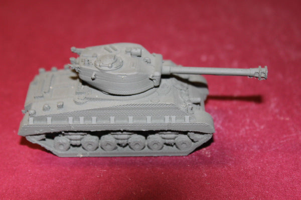 1/87TH SCALE  3D PRINTED WW II U S ARMY M4A3 SHERMAN HVSS WITH SANDSHIELD