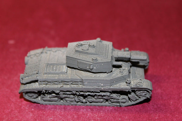 1/72ND SCALE  3D PRINTED  WW II HUNGARIAN ARMY TURAN II MEDIUM TANK
