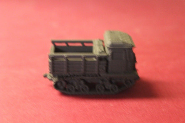 1/72ND SCALE 3D PRINTED WW II RUSSIAN STZ-5 OPEN ARTILLERY TRACTOR