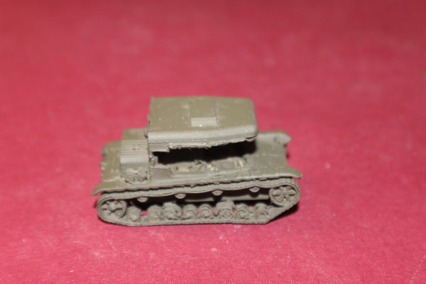 1/72ND SCALE 3D PRINTED WW II POLISH C7P ARTILLERY TRACTOR