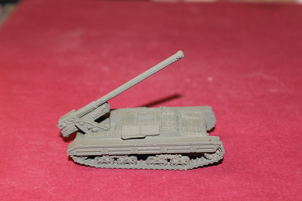 1/72ND SCALE  3D PRINTED WW II ITALIAN SEMOVENTE DA 14940 SELF PROPELLED GUN