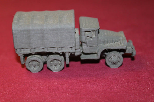1/87TH SCALE 3D PRINTED WWII U. S. ARMY GMC CCKW 2½-TON 6X6 CARGO TRUCK
