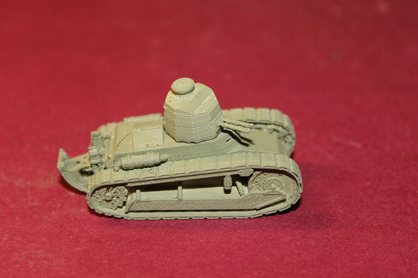 WW II ITALIAN CARRO D'ASSALTO L521 FIAT 3000 LIGHT TANK