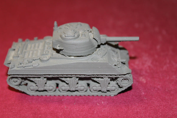 1/72ND SCALE  3D PRINTED WW II U S ARMY M4A3 SHERMAN LATE PRODUCTION