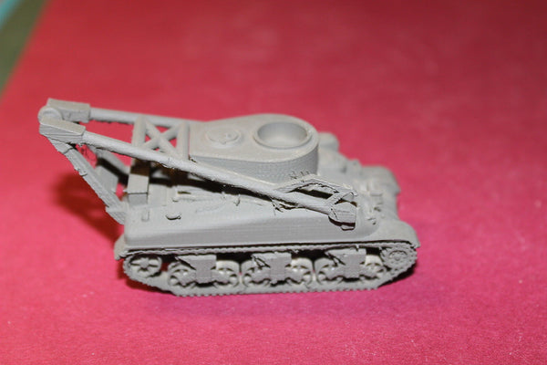 1/72ND SCALE 3D PRINTED WW II U S ARMY M32 ARMORED RECOVERY VEHICLE