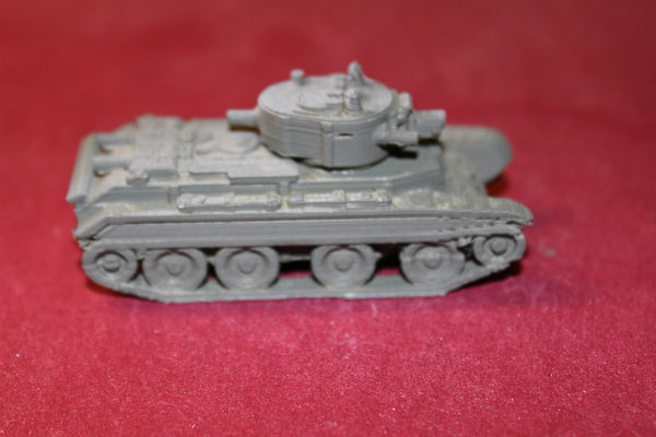 1/72ND SCALE  3D PRINTED WW II RUSSIAN BT-7A TANK
