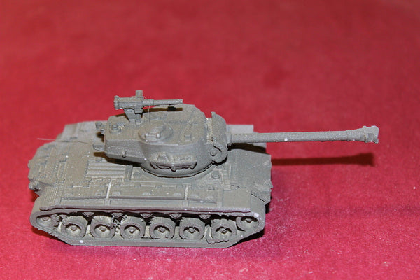 1/72ND SCALE  3D PRINTED WW II U. S. ARMY M 6 SUPER PERSHING 90MM M3 GUN