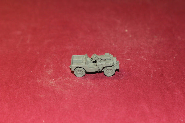 WW II U S ARMY AIRBORN JEEP RECON