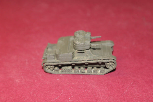 WW II POLISH VICKERS MKE TYPE A DW HOTCHKISS LIGHT TANK