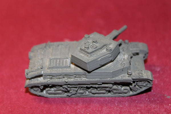 1/72ND SCALE  3D PRINTED  WW II HUNGARIAN ARMY TURAN I MEDIUM TANK