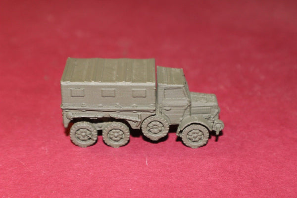 1/72ND SCALE  3D PRINTED WW II HUNGARIAN ARMY RABA 38M BOTOND CLOSED