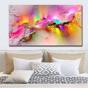 Colorful Art In Canvas or Acrylic print