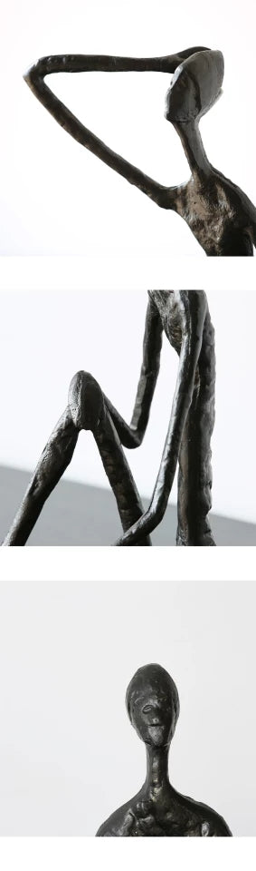 Modern Abstract Bronze Sculpture