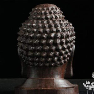 Mini Buddha Wood Statue