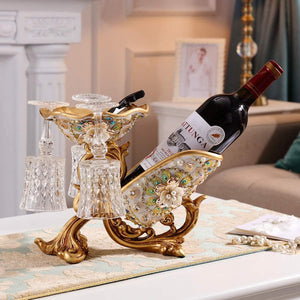 European Luxury Modern Wine Holder