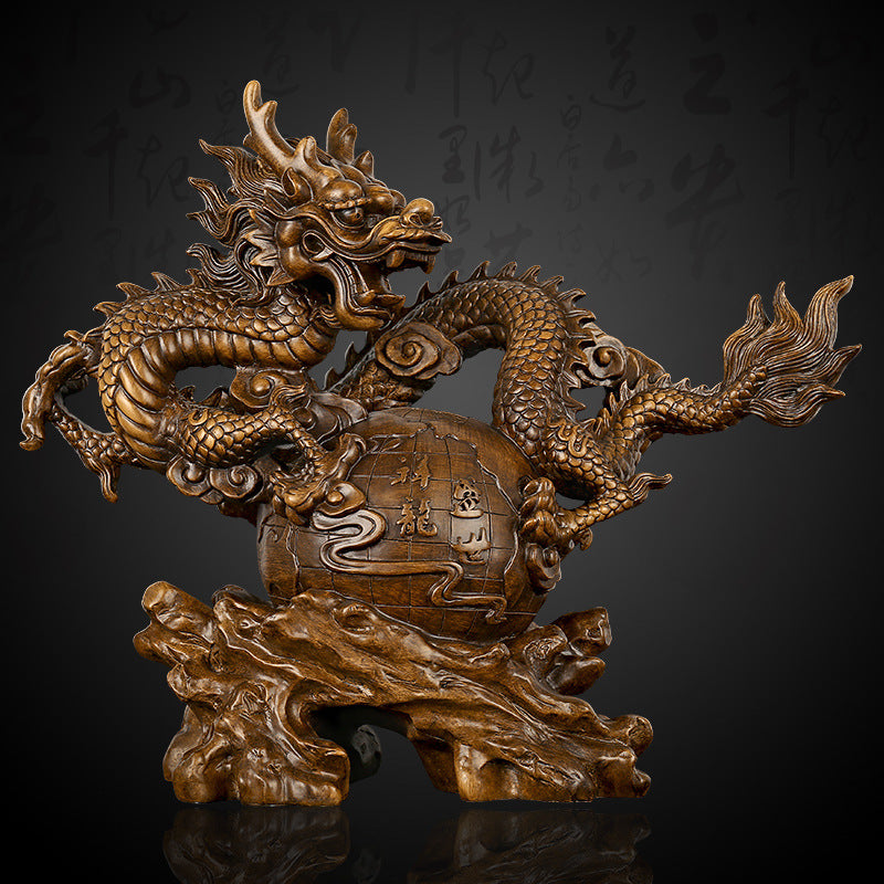 Large Dragon Statue