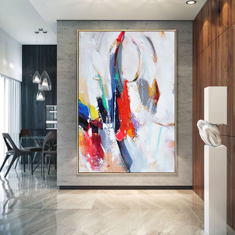 Abstract Colorful Art in Canvas