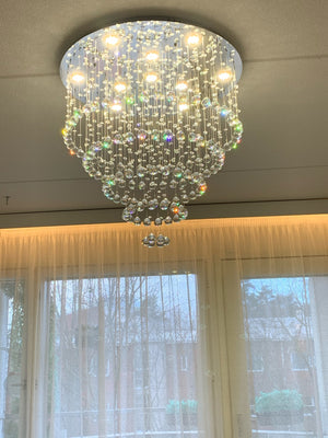 Large Luxury Crystal Chandelier