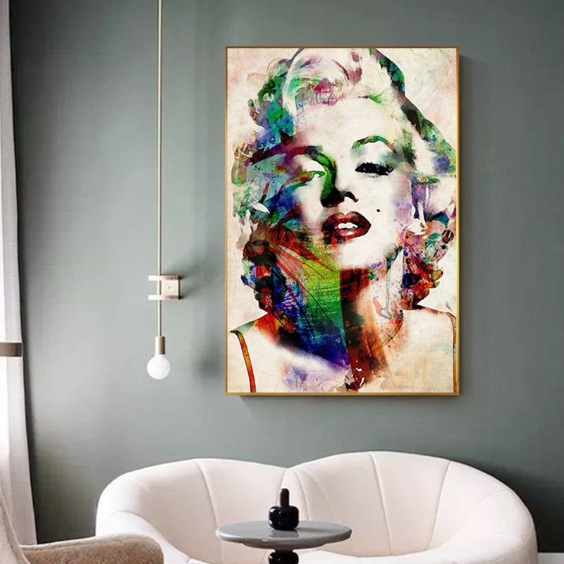 Marylin Monroe Canvas Art