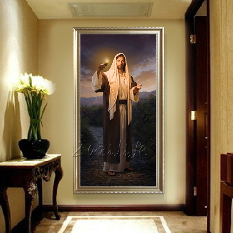 Jesus Christ Art in Canvas