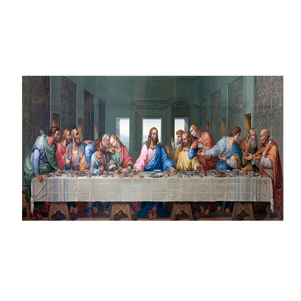 Leonardo Da Vinci's The Last Supper Poster